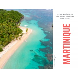 Martinique SIM Card - 2.5 GB